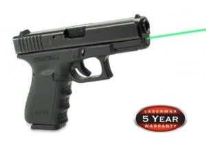 LaserMax For Glock 19, 23, 32, 38, Green LMS-1131G LMS1131G