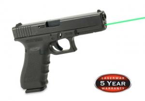 LaserMax Guide Rod Red Laser Sight For Glock 19, Generation 4, Green, LMS-G4-19G LMSG419G