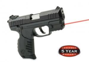 LaserMax Rail Mount Red Laser Sight for Ruger SR22, SR9c, SR40c LMS-RMSR LMSRMSR