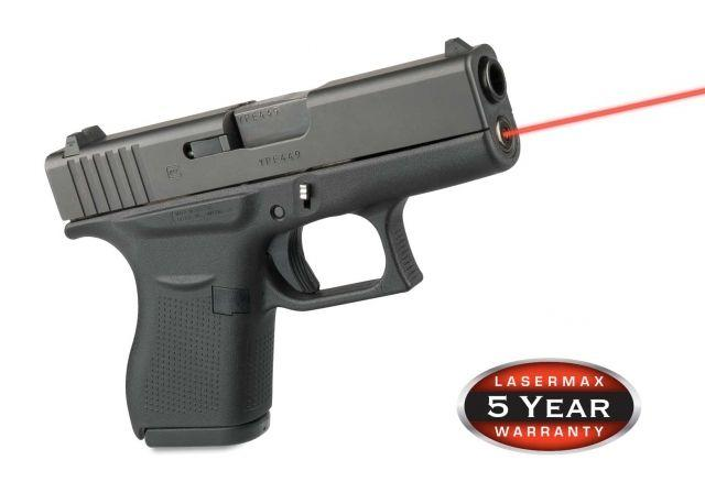Lasermax Guide Rod Red Laser Sight for Glock 43 LMS-G43 LMSG43