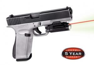 Lasermax Spartan Adjustable Fit Laser/Light Combo, Red, SPS-C-R SPSCR