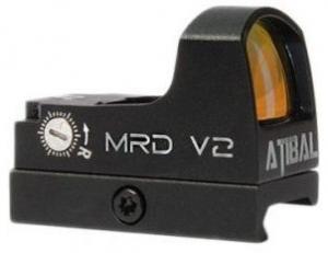 Atibal AT-MRD v2 Mini Red Dot, Black, MRDv2 MRDv2
