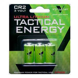 Viridian Tactical Energy + CR2 Lithium Battery 3-pack VIRCR23