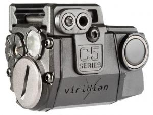 Viridian Universal Sub-Compact Red Laser w/Tactical Light, 100/140 Lumens, Featuring ECR C5LR
