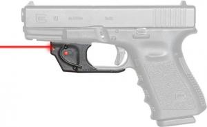Viridian Weapon Technologies Essential Red Laser Sight for Glock 17/19/22/23/26/27, Black, 912-0008 804879579809
