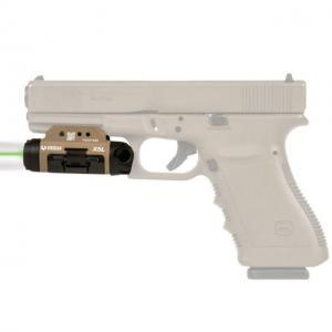 Viridian Weapon Technologies Viridian Weapon Technologies X5L Gen-3 Universal Mount Green Laser Sight / 500 Lumens Tactical Light Combo, FDE 930-0016 9300016