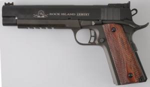 Armscor M1911-A1 FS RIA Match Black .45 ACP 6-inch 8Rds 51529