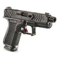"""The War Poet, Semi-automatic, 9mm, 4.5"""" Threaded Barrel, 15+1 Rounds 810013431308"""