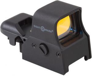 Sightmark Ultra Shot 1x34mm 4 Pattern MOA Reticle QD Digital Switch Red Dot Sight, 3x AG5 Battery, Black, SM14000 SM14000