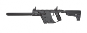Kriss Vector Gen II Carbine Black .45ACP 16-inch 10rd with bullet button Ca Legal 810237023228