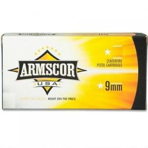 Armscor USA 9mm 115GR FMJ 50Rds FAC9-2N