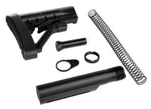 Trinity Force Corp WT05B Omega AR-15 Aluminum/Steel/Rubber Black 812530025718