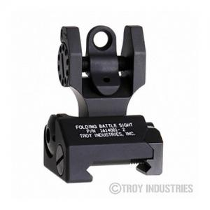 Troy Folding Rear Battle Sight Black SSIGFBSR0BT00