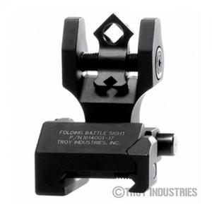 Troy Folding Rear Di-Optic Sight Black SSIGDOARFBT00