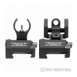 Troy BattleSight Micro Front/Rear Black SSIGIARSMBT00