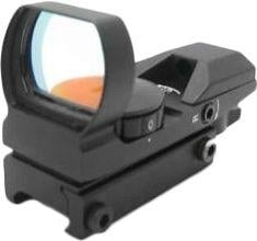 NcSTAR Red Dot Sight - Tactical Red Dot With 4 Different Reticles / Black D4B D4B