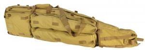 VISM Double Gun Drag Bag, 45x10x4in - Tan CVDB2912T CVDB2912T