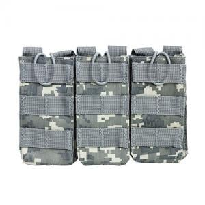 NCStar CVAR3MP2928D AR Triple Mag Pouch Digital Camo 814108016395