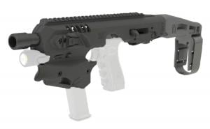 CAA MCK Standard Conversion Kit Fits Glock 17/19/19X/22/23/31/32/45 Gen3-5 Black Polymer Stock MCK