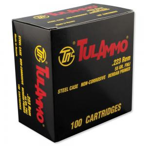 TULA 223rem 55 Grain Full Metal Jacket 100 Rounds 814950011203