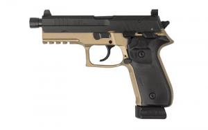 Rex Zero 1 T Tactical 9mm Pistol 4.9 In Threaded Barrel 20 Rd Black and FDE REXZERO1T-03