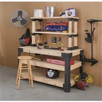 Workbench Legs Kit with ShelfLinks 90164