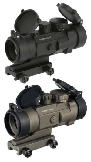 Primary Arms 2.5X Compact AR15 Scope with Patented CQB ACSS Reticle, Black, PAC2.5X 818500010548