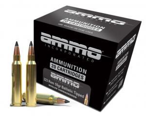 Ammo, Inc. Varmageddon .223 Rem 55 Grain Ballistic Tipped Centerfire Rifle Ammo, 20 Rounds, 223055VG-A20 818778022915