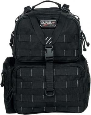 GPS Tactical Tactical Range Backpack, Black GPS-T1612BPB GPST1612BPB