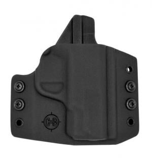 C&G Holsters OWB Covert Springfield XDs 3.3in RH S, Outside-the-Waistband OWB, Springfield XDs 3.3in, Right, Black, 095-100 819828020950