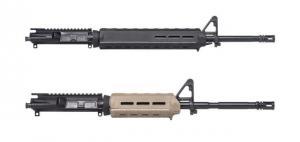 Aero Precision AR-15 Complete Upper Receiver, 5.56, Mid-Length, 16 inch Barrel w/Pinned FSB, Magpul MOE Handguard, A2 Flash Hider, FDE Cerakote, APAR502504M65 840014604548
