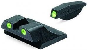 Meprolight Tru-Dot Night Sight Set for Ruger P94, P944 & P97, Green, ML10994G 840103135915