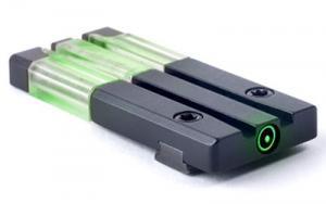 Mako Group Mepro FT Bullseye Micro Optic Pistol Sight Fiber Optic/Tritium Green S&W M&P Shield Models Alloy Housing Matte Black Finish 840103157566