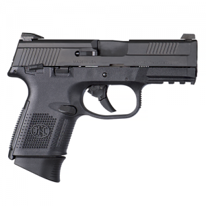 "FN Herstal FNS-40 Compact .40 S&W 10+1 4"" Pistol in Black (Manual Safety) - 66784 845737001964"