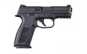 FN America FNS-40 Full Size Pistol 40 S&W 4 Inch Black Night Sights Non-Manual Safety 14Rd 845737002480