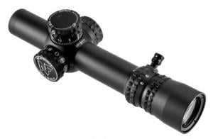 NightForce NX8 1-8x24 F1 Riflescope w/Zerostop, PTL, 30mm Tube, .5 MOA, FC-MOA Reticle, Black, C600 847362015538
