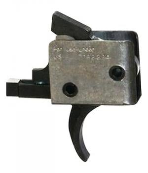 CMC Triggers 92501 AR-15/AR-10 Duty/Patrol Single Stage Traditional Curved Trigger 92501