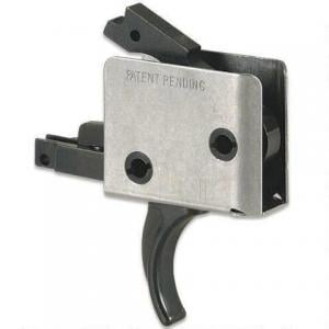 CMC Triggers AR-15 Drop-In Single Stage Trigger Curved 5-5.5LB .154 Inch Small Pin Black 93501