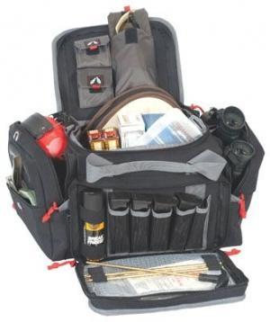 G. Outdoors Products Medium Range Bag, Nylon, Black, GPS-1411MRB GPS1411MRB