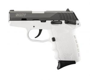 SCCY CPX-1 Black / White 9mm 3.1-inch 10Rd CPX-1CBWT