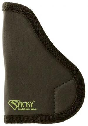 Sticky Holsters MD-4 Holster for GL 43, S&W Shield, SAI XDS, Walt. PPS, Moss. MC1, Medium, Black, MD-4 MD4