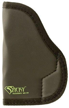 Sticky Holsters LG-6S Holster for 4.25in. barrel- S&W M&P, HK VP9, P30, FNS/X, Rug Amer./SR, Large, Black, LG-6S LG6S