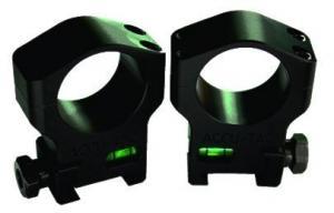 ACCU-TAC 30 Mm Scope Rings, Flat Black, Small HSR-300 HSR300