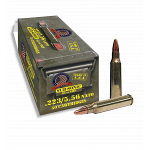 Thermold Founding Fathers Rifle Ammunintion 5.56mm 63 gr SMP 1000 fps 50 UN223SS50