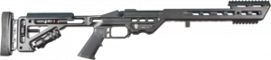 MasterPiece Arms MPA BA CHASSIS R700 SHORT BLK MPABACHASSISREMSABLK