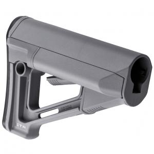 Magpul STR Stock, Fits AR-15, Commercial, Gray MAG471-GRY MAG471-GRY