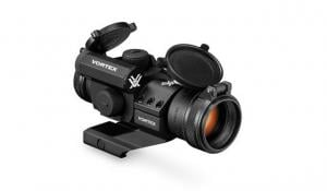 Vortex StrikeFire II Red Dot, 4 MOA Red/Green Dot w/ Lower 1/3 Co-Witness Cantilever Mount SF-RG-501 875874005518