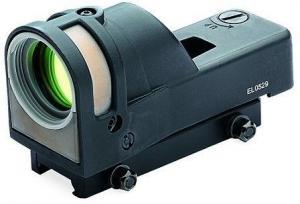 Meprolight M21 1x30mm Reflex Sight, Bullseye Reticle, Black w/Dust Cover M21-B MeproM21B