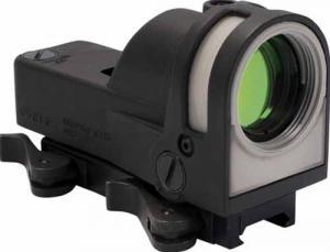 Meprolight M21 1x30mm Reflex Sight, Triangle Reticle, Black w/Dust Cover M21-T MeproM21T