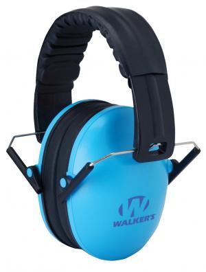 Walkers Game Ear GWP-FKDM-BL Folding Kid Muff Blue GWP-FKDM-BL